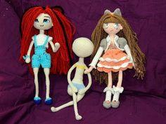 Muñeca Articulable a Crochet - Parte 5: Tronco / Unión de las extremidades - YouTube