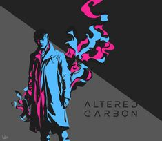 Altered Carbon by iuliae on DeviantArt Altered Carbon, Neon Nights, Cyberpunk Art, Fanart, The Witcher, Alters, Tv Series, Concept Art, Sci Fi