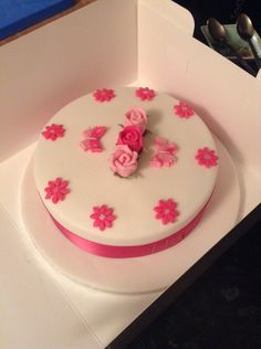 Rose cake, this was a quick cake too.