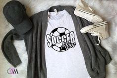 Soccer Mom Shirt, Soccer Shirt, Soccer T-Shirt – One Crafty Momma