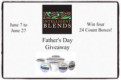 New Age Mama: Intelligent Blends Father's Day #Giveaway