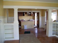 craftsman style living room built ins - Google Search