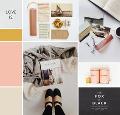 Warm Hearted Moodboard | By Breanna Rose