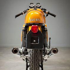 1973 Ducati 750 Sport: Bem ao estilo Café Racer