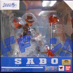 バンダイ フィギュアーツZERO サボ -5th Anniversary Edition-