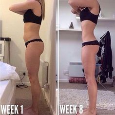 @elliemariaevans1991 8 weeks later! Leaner, stronger, healthier and fitter than ever before! Ellie was never big to begin with, however she was very bloated and didn't know what she was doing wrong. Here is her 8 weeks later !! Looks like she's doing something RIGHT. For results like these, visit www.kaylaitsines.com.au/guides