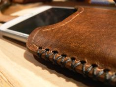 Apple iPhone6 Leather Case iphone 6 leather sleeve by GORIANI