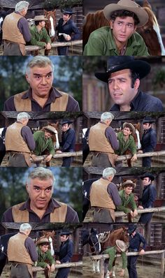 Little Joe and Adam return home exhausted from a cattle drive only to learn that more labor awaits them. From Any Friend of Walter's (Bonanza)