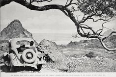 Sitting in the back dicky seat. A view of Piha camping 1936 Nz History, Kiwiana, Retro Home, Old West, Auckland, Back In The Day, Ranges, New Zealand, Old School