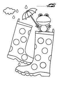 "Képtalálat a következőre: ""krokotak print"" Fall Arts And Crafts, Autumn Crafts, Spring Crafts, Colouring Pages, Adult Coloring Pages, Coloring Books, Rain Crafts, Paper Bag Puppets, Arabic Alphabet For Kids"