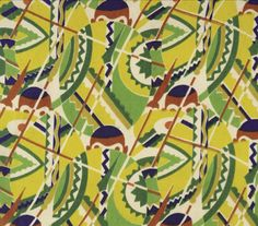 The Fashion Historian: Art Deco Textiles in America Part Africana Prints and Non-Western Influences Textile Prints, Textile Design, Textiles, American National Parks, Nautical Fashion, Popular Culture, Historian, Metropolitan Museum, Art Museum