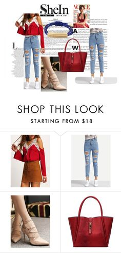 """""""Sheinside-8"""" by nihada-niky ❤ liked on Polyvore featuring WithChic and Sheinside"""