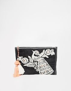 Enlarge Star Mela Dora Embroidered Purse