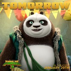 Kung Fu Panda 3 teaser trailer is out TOMORROW!