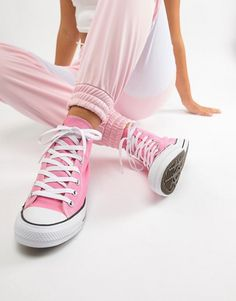 c67ce261b96c Converse Chuck Hi Taylor Sneakers In Pink