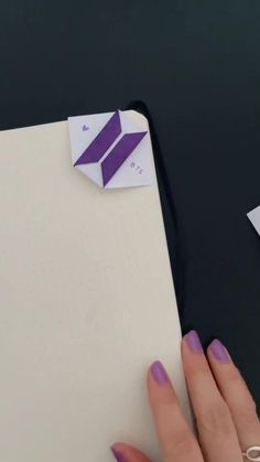 Diy Crafts Bookmarks, Instruções Origami, Kpop Diy, Bts Concept Photo, Bts Book, Bts Drawings, Diy Canvas Art, Bts Lockscreen, Album Bts