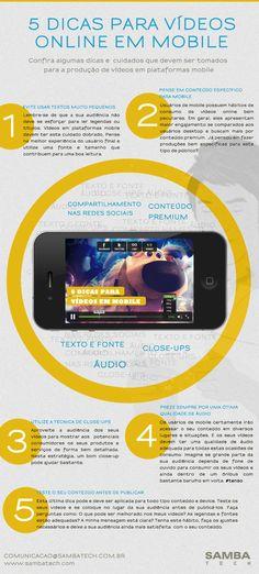 Dicas para vídeo de celular