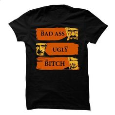 Breaking bad - the bad ass, the ugly and the bith - #tshirt necklace #hipster sweater. I WANT THIS => https://www.sunfrog.com/Funny/Breaking-bad--the-bad-ass-the-ugly-and-the-bith.html?68278