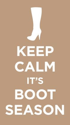 Deep breaths and new boots make everything better! So go ahead boot lovers... get your shopping on!