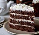 Черемуховый торт со сметанным кремом