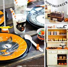 Halloween Party for Pottery Barn Kids with tons of ideas! By Kara Allen of KarasPartyIdeas.com #halloweenpartyideas #halloweenrecipes #potterybarnkids