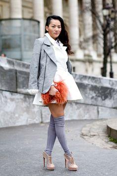 Tina Leung's Street Style