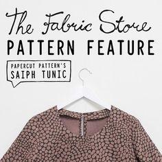 Saiph Tunic PDF | Papercut Patterns