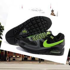 low priced 0b65c 7f5c5 Schoenen Nike Air Max Command Zwart Grijs Groen Heren HOT SALE! HOT PRICE!
