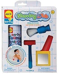 Alex Toys Shaving in the Tub Bath Toy Set, 5-Piece