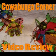 Teenage Mutant Ninja Turtles Turflytle and Baxter Stockman by Playmates Toys.  Based on Nickelodeon TMNT series.  Video review: http://www.cowabungacorner.com/content/review-turflytle-baxter-fly-toys