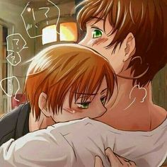 SpaMano is love SpaMano is life Dennor, Spamano, Lightning Strikes, Queen Mary, Anime, Have Time, Chibi, Sick, Ereri
