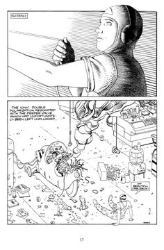 Moebius. theairtightgarage:   The Man from the Ciguri Page 10