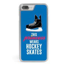 Hockey iPhone Case - This Princess Wears Hockey Skates