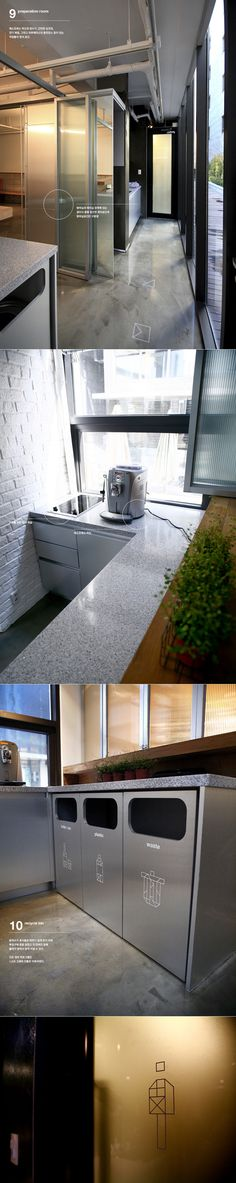 Plus X New Office Space Design by Plus X, via Behance