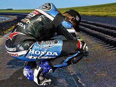 "encuir2biker: "" Racer by driver Photographer """