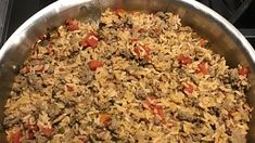 Cajun Dirty Rice Recipe | Allrecipes Cajun Dirty Rice Recipe, Cooking For A Crowd, Kidney Beans, Rice Recipes, Ground Beef, Cornbread, Sausage, Spicy