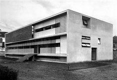 Anti-tuberculosis dispensary,   Ignazio Gardella,   [Alessandria, 1933-38]