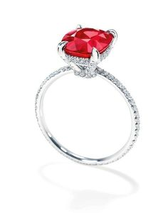 Twitter / HarryWinston: July is Ruby Month. Join us as we celebrate the ravishingly rich color of this magnificent gemstone.
