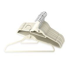 real simple hangers | Real Simple Slimline Hangers | Storage and Organization