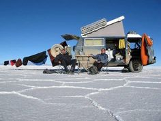 Honestly, who wants luxury when you can travel like this? #travel #camping #rv #backpacking