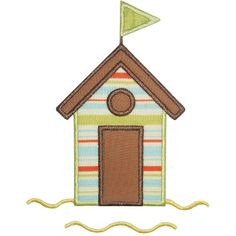 Where the Fairy tale begins - Custom Embroidery Applique Patterns, Applique Designs, Machine Embroidery Designs, Beach Cabana, Beach Design, Custom Embroidery, Types Of Art, Fabric Panels, Baby Dolls