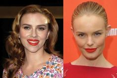 if your skin is more like Scarlett Johansson and Kate Bosworth, then you're a warm yellow woman.