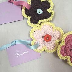 crochet flower decor