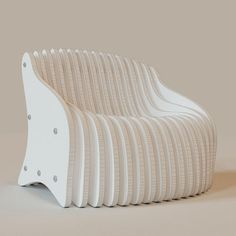 parametric armchair 3d model max 7 Lawn Furniture, Cool Furniture, Furniture Design, Luxury Furniture, Modern Furniture, Plywood Chair, Plywood Furniture, Plywood Floors, Teen Room Makeover