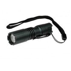LightStar 100 LED 1AA Flashlight, Gray Aluminum Body