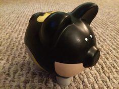 Hucha de cerámica medio pintadas de Batman