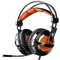 SADES SA928 Pro Surround Sound Stereo PC Gaming Headset Headphones with…