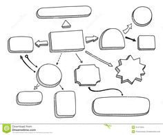 flowchart-vector-illustration-hand-drawn-mind-map-space-your-text-isolated-white-background-31471834.jpg (1300×1082) More