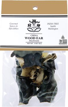 Use INDIA TREE Wood Ear Mushrooms to flavor pork and chicken in Asian dishes, or to add texture and visual interest to noodles and stir-fried vegetables. Dried Mushrooms, Stuffed Mushrooms, Fried Vegetables, Specialty Foods, Color Lines, Food Coloring, Noodles, Plant Based, Pork
