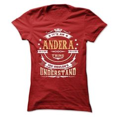 ANDERA .Its an ANDERA Thing You Wouldnt Understand - T  - #girl tee #tshirt summer. BUY TODAY AND SAVE => https://www.sunfrog.com/LifeStyle/ANDERA-Its-an-ANDERA-Thing-You-Wouldnt-Understand--T-Shirt-Hoodie-Hoodies-YearName-Birthday-64806927-Ladies.html?68278